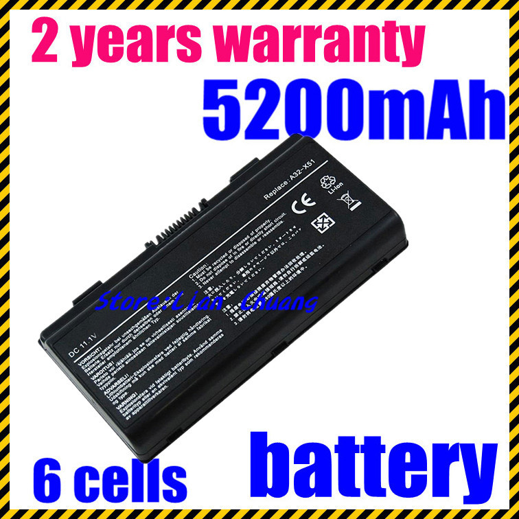 JIGU Special Price New laptop battery for Asus X51H X51L X51R X51RL T12b T12C T12Er T12Jg
