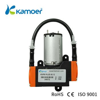 Kamoer KVP8 Plus 12 24V Mini membranowa pompa próżniowa ze szczotkowy silnik prądu stałego używany do przenoszenia gazu tanie i dobre opinie Elektryczne Pompy membranowe Electric Standardowy Pompa powietrza Niskie ciśnienie KVP8-plus Brush dc motor 2000H 400L H