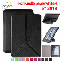 Smart PU Leather Slim Transformer Case for Amazon Kindle Paperwhite 4 6