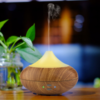 Air Humidifier Essential Oil Diffuser Diffuseur Huile Essentiel 7 Colors LED Sleep Light Humidificador Ultrasonico AJ
