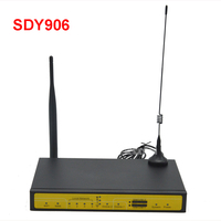 SDY906 Dual Sim Active Active Load Balancer 4G LTE Router For ATM Kiosk Substation Wireless Transmission