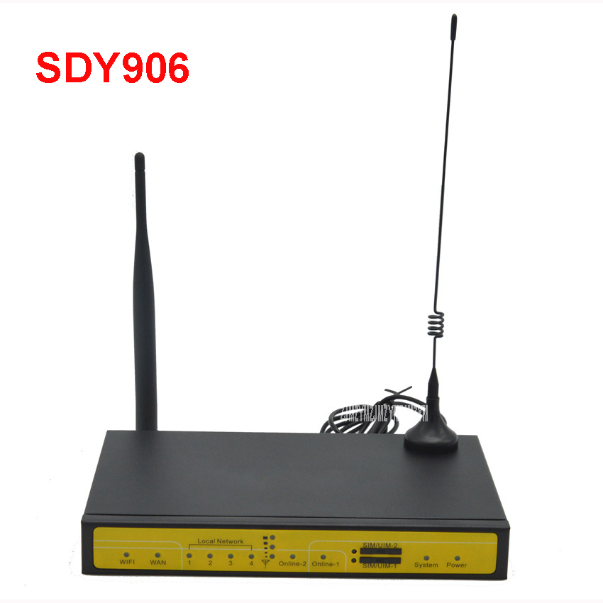 sdy906 dual sim active active load balancer 4g lte router. Black Bedroom Furniture Sets. Home Design Ideas