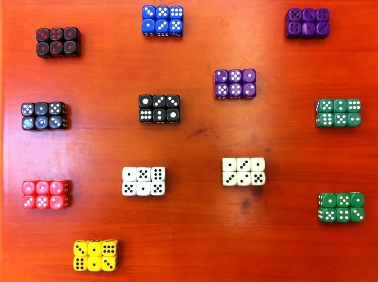 16mm warna fillet dadu mainan aksesoris hadiah hadiah koleksi komoditas ekspor