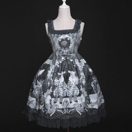 をbizarrerie〜ゴシックロリータドレスヴィンテージ短いドレスによるダイヤモンド蜂蜜  グループ上の ノベルティ & 特殊用途 からの ロリータドレス の中 1