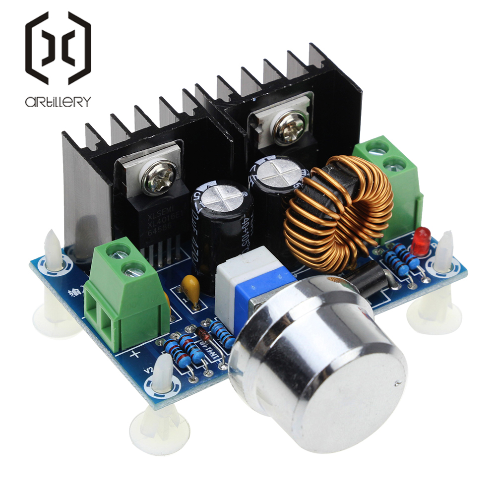 XL4016 XL4016E1 High Power DC Voltage Regulator DC-DC XH-M401 Buck Module With Maximum 8A Tire Voltage Regulator
