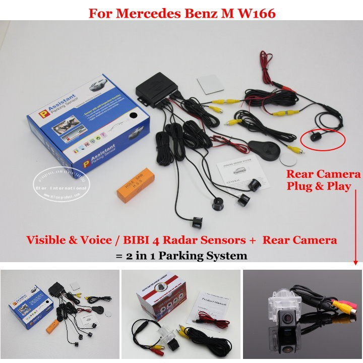 Mercedes Benz M W166 parking system