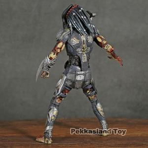 Image 4 - NECA Predator 2018 Film Latitante Predator PVC Action Figure Da Collezione Model Toy