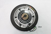 Electric Bicycle 36V 1000W 14inch 16inch 18inch Rear Wheel Driving Brushless Gearless Hub Motor