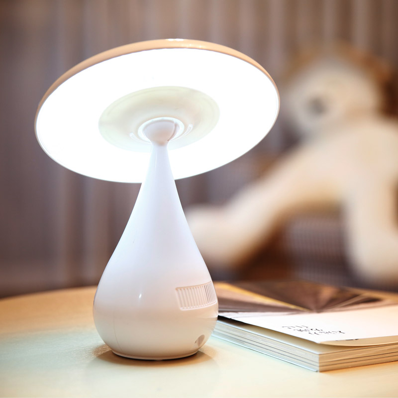 LED Mushroom Lamp Air Purifier for Home USB Anion Purifier Ozonizer Air Cleaner Ozone