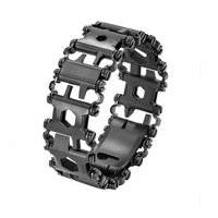 2017 Punk Walker Wearable Stainless Steel Tool Bracelet For MEN Outdoor Multifunctional Screwdriver Bracelets 29 Functions