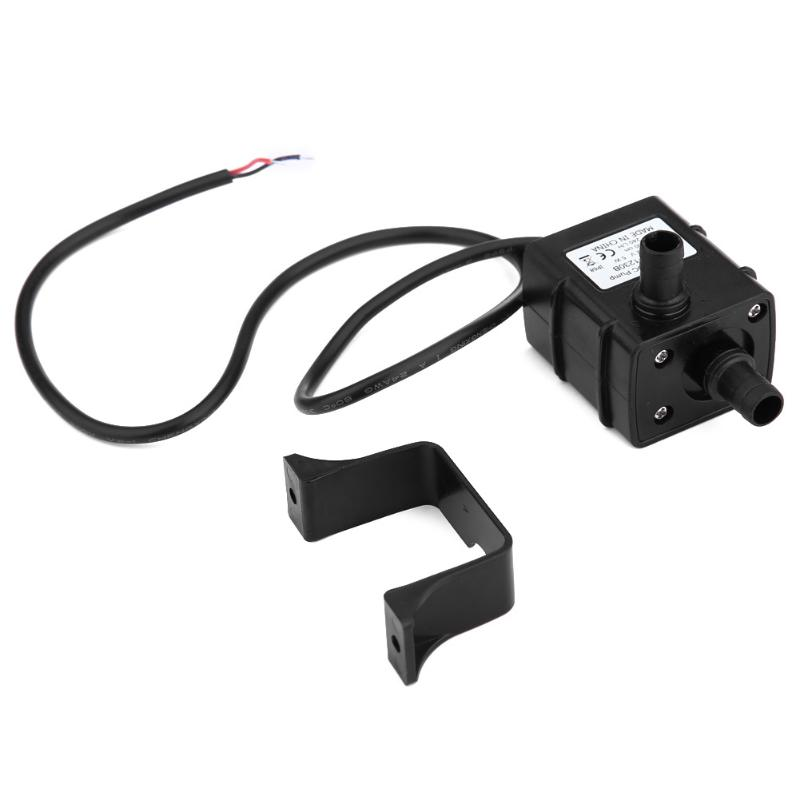 Waterproof Mini Water Pump Power 12 V 5 W 240L / H Brushless DC Micro Pump Membrane Submersible Fountain Aquarium Pump image