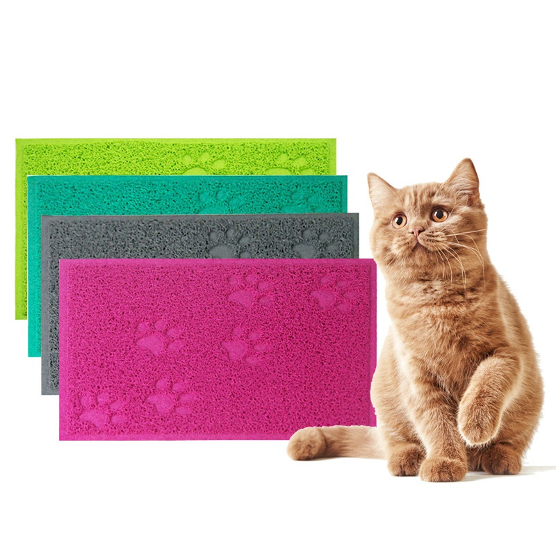 Pet Puppy Dog Cat Litter Mat Claws Pet Small Footprint Foot Sleeping Pad Placemat Cleaning Carpet