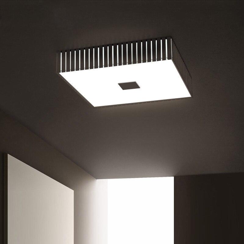 Nowoczesny plac Metal Led Lustre lampy sufitowe minimalizm oświetlenie sufitowe Led lampa Led Lamparas oświetlenie wewnętrzne oprawy Lamparas