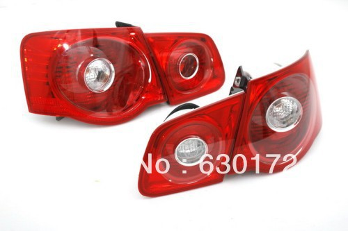 Не-светодиодной подсветкой красного цвета США задний фонарь для Фольксваген Джетта МК5