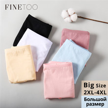 2Pcs/set Big Size Panties 3XL 4XL Women Panty Cotton Briefs Fashion Female Intimates Mummy Pants Large Size Ladies Underwear New(China)