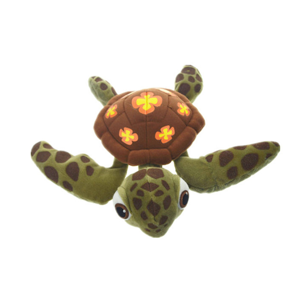 Cartoon Squirt Plush Toy, Green Sea Turtle Plush Toy Finding Nemo Plush 30cm warm plush detachable wash safety explosion proof hot water bottle plush turtle clown fish nemo