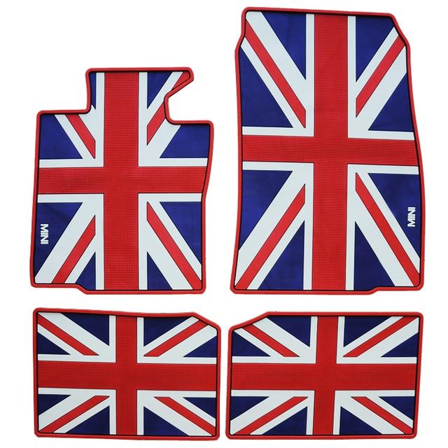 Bandiera Britannica Dedicato Wateroof Car Tappetini