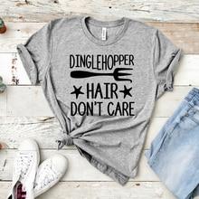 Hair Don't Care Shirt Little Mermaid Ariel T-shirt Women Shirts With Sayings Funny Quote Tee shirt