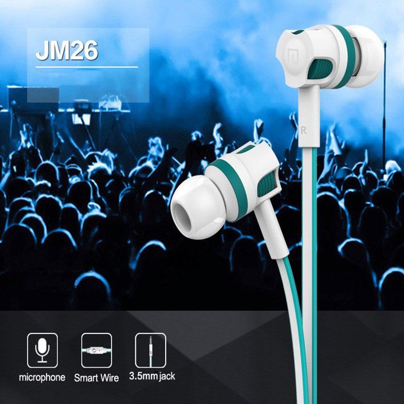 Langsdom Mini fülhallgató JM26 zenelejátszáshoz hordozható fülhallgatókhoz vezetékes, fülhallgatós fülhallgatók fülhallgatóval, mikrofonnal