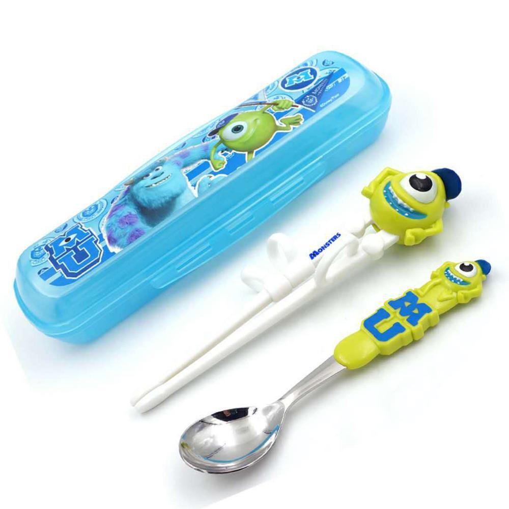 Disney детские палочки для еды мультфильм моделирование учебные палочки для еды обучения палочки для еды Детские вспомогательные палочки для еды коррекция посуда - Цвет: Color7
