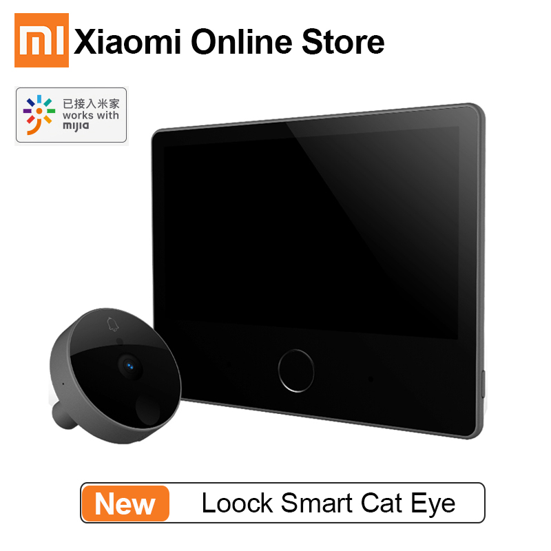 Xiaomi Doorbell Camera Smart-Alarm Mijia Face-Detection Caty Night-Vision 7inch-Screen title=