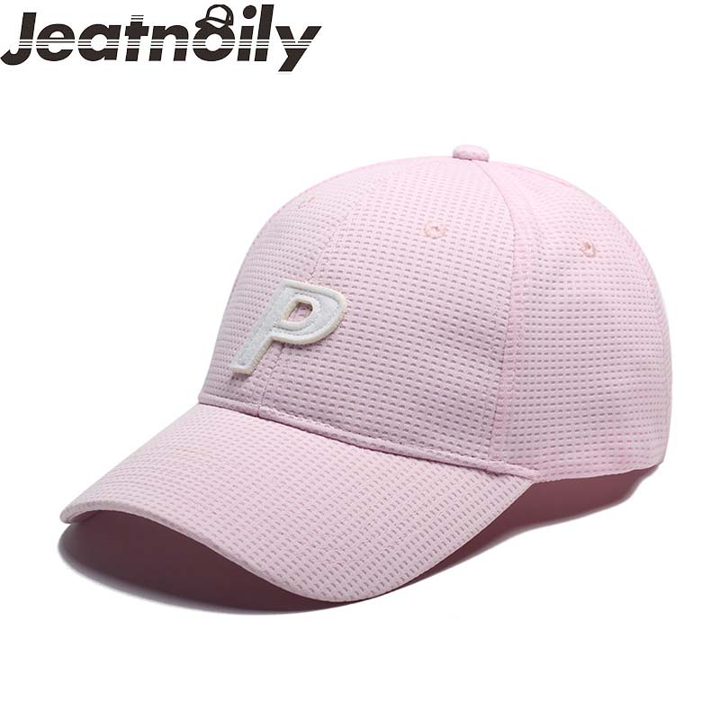 Fashion Baseball Caps Men Women Washed Cotton Embroidered Hats Snapback Hip Hop Gorras Unisex P Letter Trucker Hat Promotion Hat new 2017 hats for women mix color cotton unisex men winter women fashion hip hop knitted warm hat female beanies cap6a03