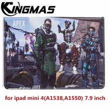 apex-legends Ultra-thin painted PU leather case for Apple iPad mini 4 A1538 7.9 inch tablet Automatic sleep wake up flip