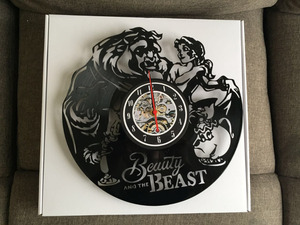 Image 5 - Beauty and The Beast orologio da parete in vinile band musicali e concerti regalo di viaggio a tema