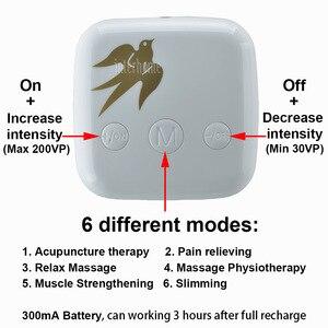 Image 3 - Patent Verlichten Vrouwen Menstruatie Pijn Zorg Instrument Fysiotherapie Massage Machine Vermoeidheid Relax Spier Therapie Tientallen Acupunctuur