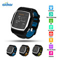 Aicka GT68 Smart Watch Bluetooth Heart Rate GPS Fitness Tracker Monitor Anti-lost Camera Smart Watch For Android IOS PK DZ09