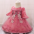 Long Sleeve Baby Girls Dress For Girls Princess Dress Infant Party Newborn Dress Baby Girls 1 Year First Birthday Dress Clothing