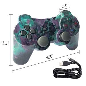 Image 4 - K ISHAKO المراقب المالي ل PS3 PC سماعة لاسلكية تعمل بالبلوتوث غمبد لسوني PS3 بلاي ستيشن 3 لعبة dualshock Joystic