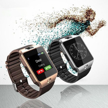 Распродажа! Цифровой DZ09 с для мужчин Bluetooth электроники SIM карты спортивные Smartwatch для камера телефона Android Носимых устройств