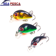 Купить с кэшбэком SEAPESCA Minnow Fishing Lure 3cm 1.5g Topwater Hard Bait Japan Crankbait Carp Fishing Wobblers Isca Artificial Tackle Pesca JK4A