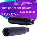 Высокое Качество Новый Инструмент Микрофон XLR Адаптер TA3F Мини 3Pin Конденсаторный Микрофон Адаптер Фантомного Питания для Арматуры или АКУСТИЧЕСКОЙ Системы