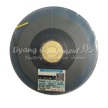 Original ACF AC-8955YW 1.5MM*50M TAPE (New Date) original acf cp9731sb 1 2mm 50m tape new date
