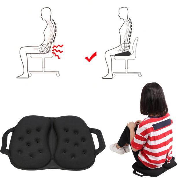 1pc black car seat pads sponge gel cushion seat covers pad office