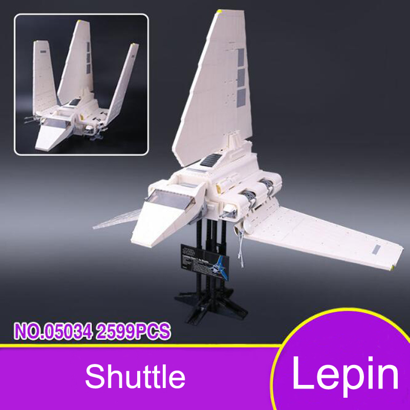 Imperial Shuttle Model Building Blocks Set Compatible Lepin Star War Series Education Bricks Toys For Children Gifts 05034 lepin 22001 pirates series the imperial war ship model building kits blocks bricks toys gifts for kids 1717pcs compatible 10210
