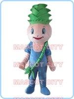 mascot Tender Bamboo shoots mascot costume cartoon bamboo shoots baby theme vegetable costumes carnival fancy dress kits 2649