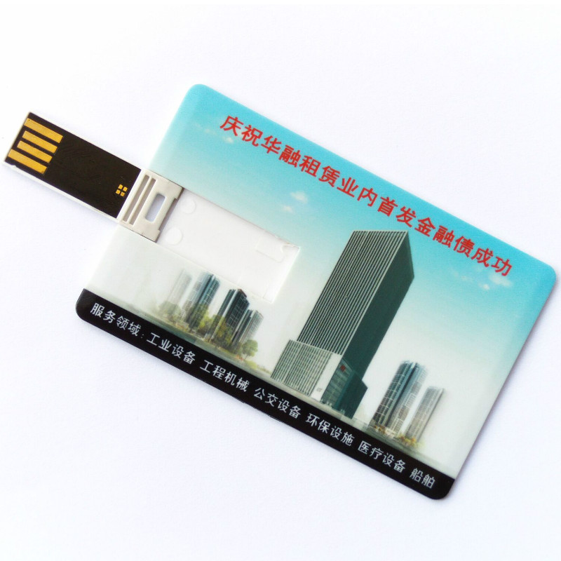 Custom Logo Business Card Model 4GB 8GB 16GB 64GB USB Flash Drive ...