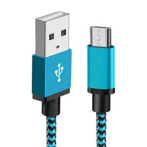 Image 3 - Cable Micro USB de 2,4 a para móvil, Cable de carga de sincronización de datos rápida para Samsung, Huawei, Xiaomi, LG, HTC, Nokia, Android