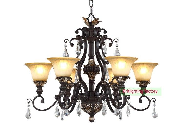 oil bronze chandelier