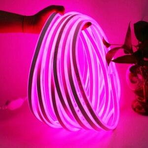 Image 5 - Led Streifen Licht 220V SMD2835 120Led/m Wasserdichte Flexible Fee Licht Outdoor Home Weihnachten Festival Dekoration Beleuchtung Streifen