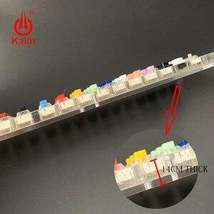 Image 5 - Kailh ボックス 45 キー機械式キーボードスイッチテスター半透明クリア Kailh MX サンプラー用キーキャップキャップテストツール
