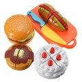 Nuevo De Corte De Plástico Niños Cake Slice Qieqie Ver Bebé Juguetes Clásicos de Cocina Comida Juego de Imaginación Artificial Casa Jouet