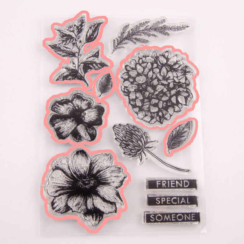 Цветы штампы и штампы для изготовления карт наклейки DIY Handbill Силиконовая печать металлическая штамповка для скрапбукинга 2019 новые штампы