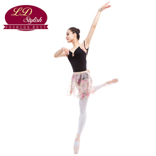 Adults Ballet Training Leotards Practice Clothing Stage Performance Competition Dance Skirt Female Dancewear Practice Dresses
