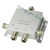 Power Splitter 800 2500MHz N 4 Way RF Power Divider For GSM CDMA DCS 3g Repeater