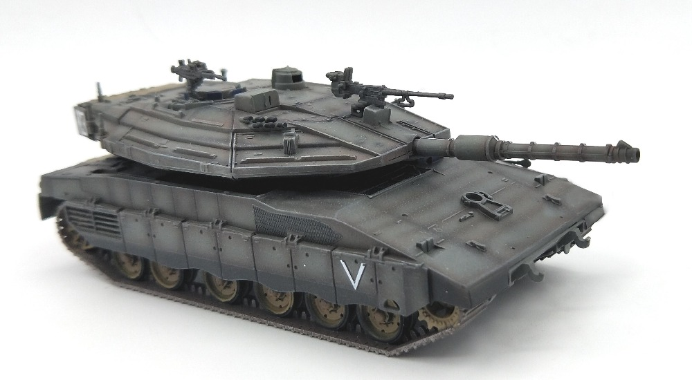1:72 scale model toy Israeli Merkava MK4 Main battle tank model Simulation static collection1:72 scale model toy Israeli Merkava MK4 Main battle tank model Simulation static collection