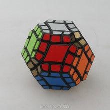 Lanlan 12 осевой куб додекаэдра черный Cubo Magico ПВХ стикер обучающая игрушка для детей Прямая поставка